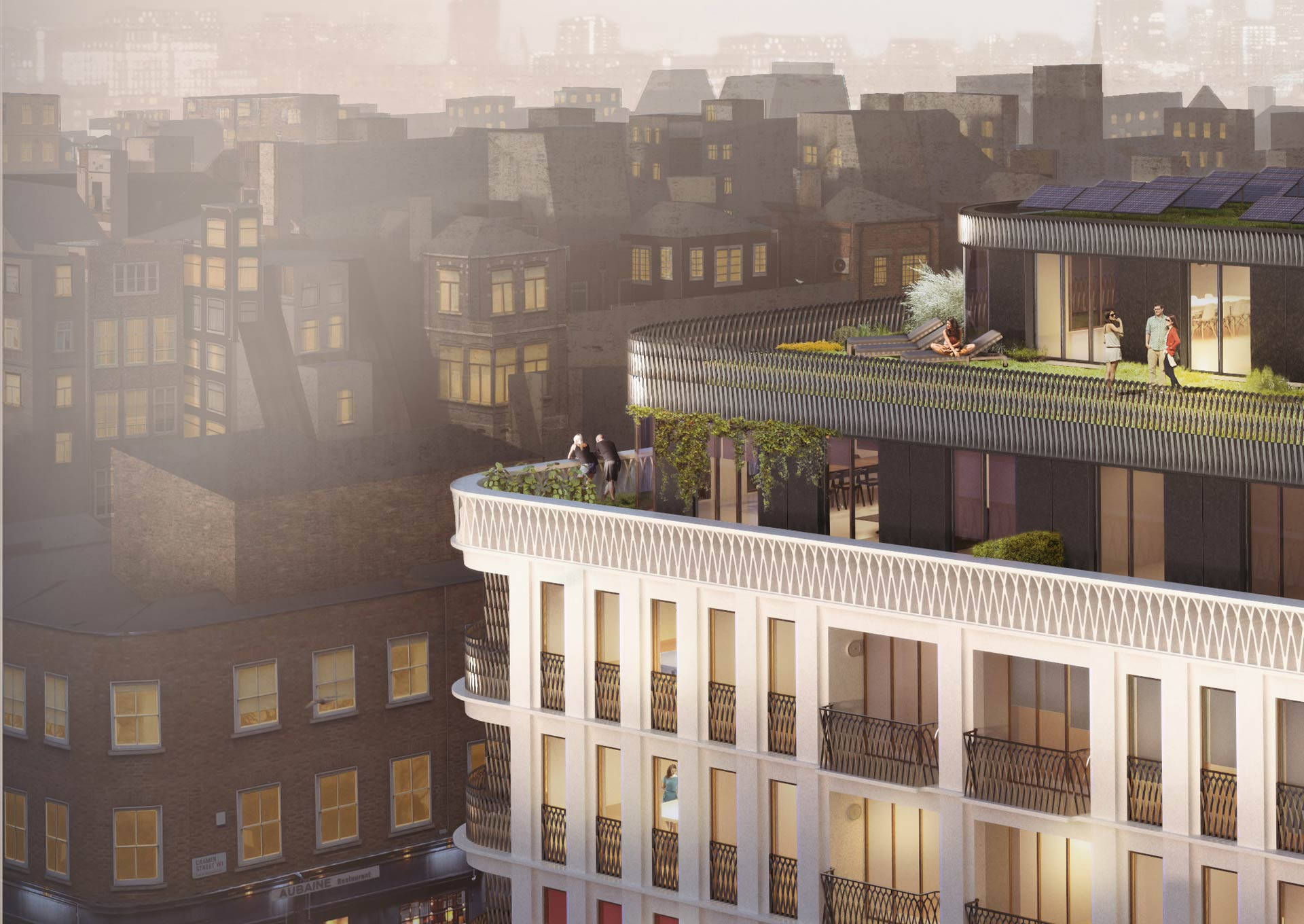 CGI - Moxon Street - development in London