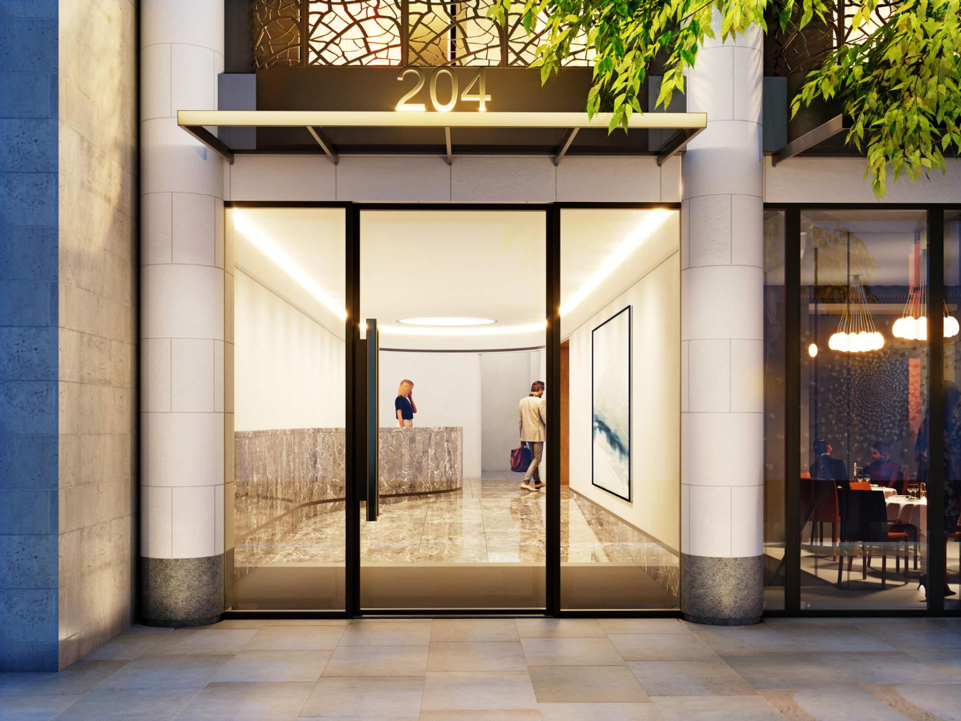 3D visualization - Bowden Architecture - GreatPortland - Reception
